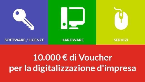 Voucher per la digitalizzazione delle PMI – MISE