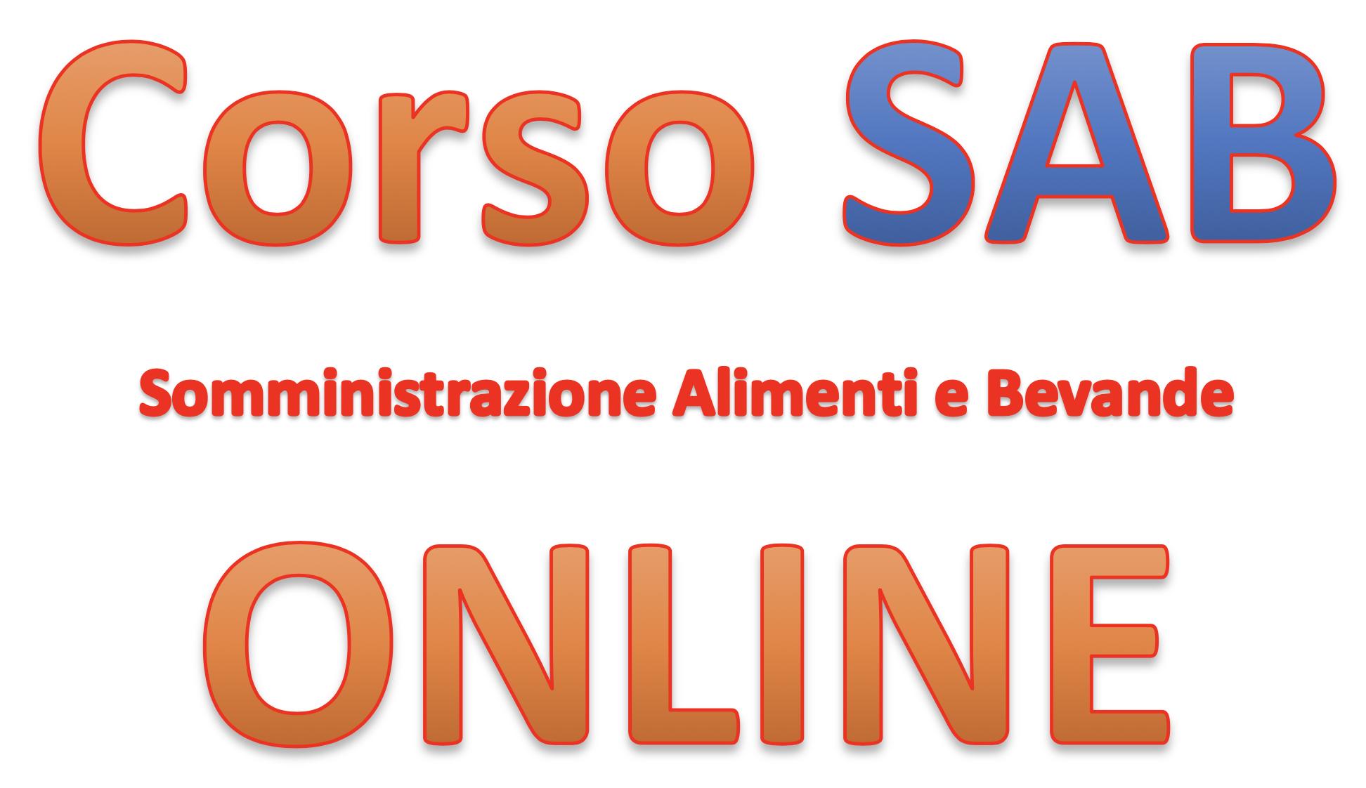 Corso SAB online - Somministrazione Alimenti e Bevande